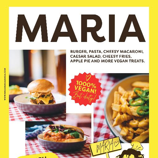 MARIA  vegan comfort food